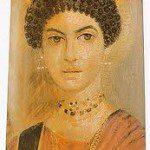 Fayum burial portrait