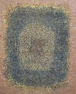 "Susan Delgalvis, (AK), ""Portal I"", 30 x 24 in., Encaustic on Birch Panel"
